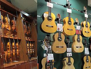 秋葉原のギター専門店の移転